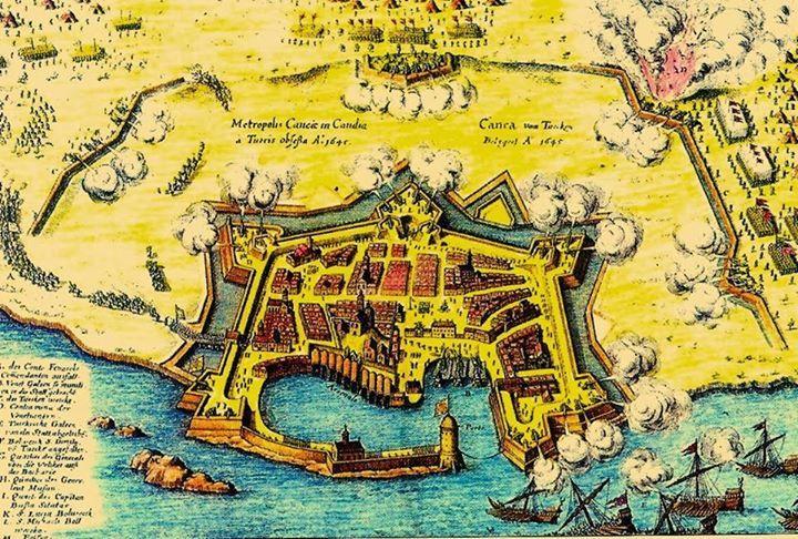 Hanya / Girit 1645