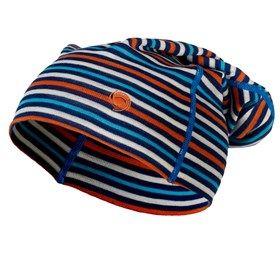 Kjøp Lue Ull Turkis Navy Offwhite Oransje for Barn - 100 NOK | PierreRobert.no - Undertøy på nett  B har hatt ei sånn hua, og den e veldig god. Fine farger på denne :)