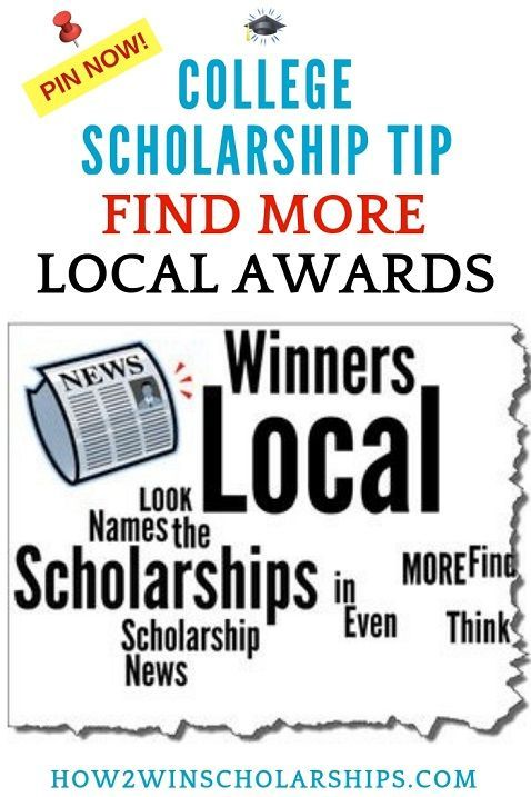 Find and WIN More Local Scholarships!   College Scholarship
