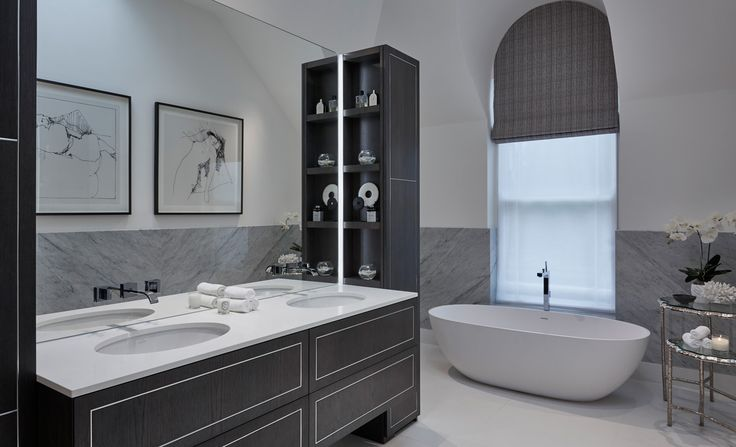 473 best salles de bains bathrooms images on pinterest for Bathroom interior design london