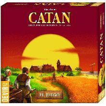 Los Colonos de Catán - Juego de estrategia donde los jugadores intentan colonizar una isla.