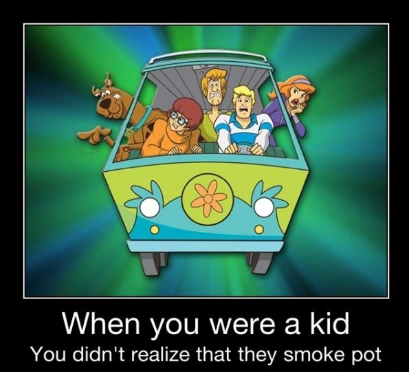 Funny Weed Joke Christmas | funny-picture-scooby-doo-pot