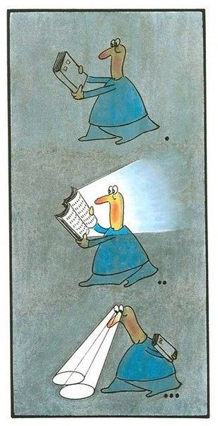 Kitap İle İlgili Karikatürler