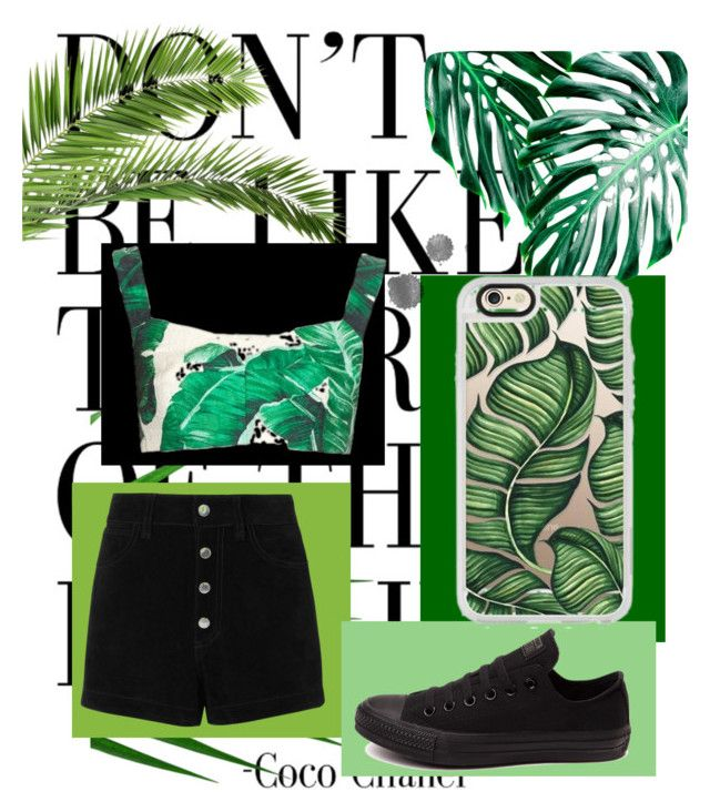 """""""Banana leaf 🍃"""" by imcute1550 on Polyvore featuring WALL, Casetify, Converse, rag & bone/JEAN and Dolce&Gabbana"""