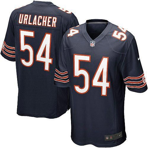nfl youth elite nike nfl chicago bears 54 brian urlacher team color blue jersey 79.99