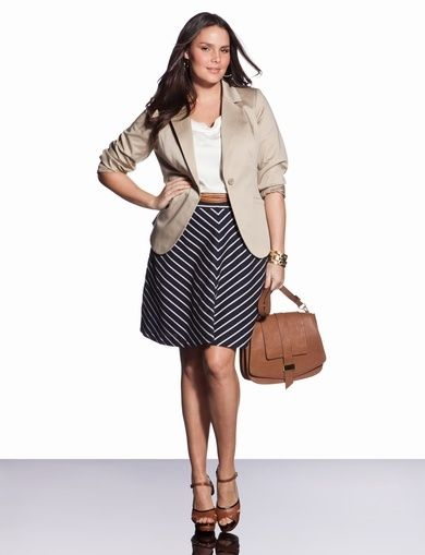 Interview clothes for plus size women