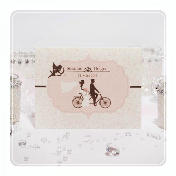 Einladungskarten Hochzeit Nr. 039   Schöne Klappkarte