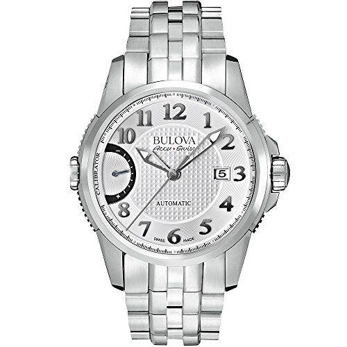 Bulova Accu-Swiss Men?s Calibrator Self-Winding Automatic Swiss Made Watch