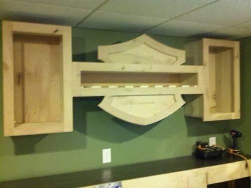Man Cave Bar Shelves : Best images about jesse s powder room on pinterest