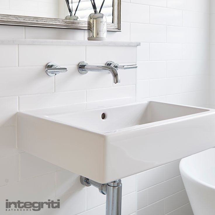 There's never a need for anything extravagant or overly fancy. Sometimes, the simplest of designs look and feel the best, and that means you won't have to break budget either! #integritibathrooms #custommade #sydneybathroom #interiordesign #bathroom #bathroomsink #bathroomrenovation #bathroomremodel #sink #taps
