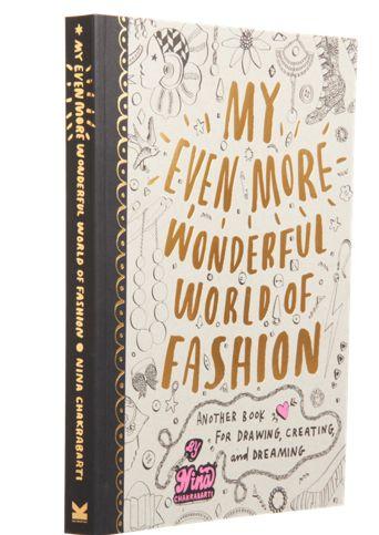 CHaLK NYC Gift Guide: CHaLK NYC Gift Guide: My Even More Wonderful World of Fashion Book #chalknyc #chalkaholic #gifts www.chalknyc.com