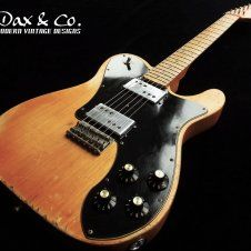 Fender Telecaster Deluxe '72 Re-issue Dax&Co. Relic! Vintage Natural Butterscotch