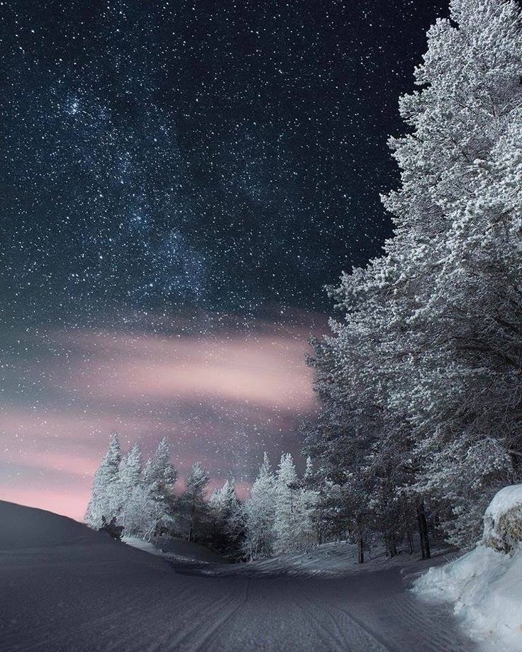 Awesome Starlit Winter Night...