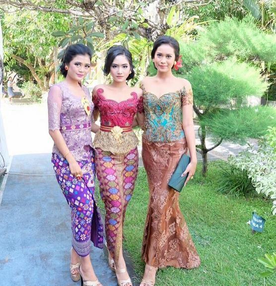 30 Model Kebaya Bali Modern Terbaru 2018