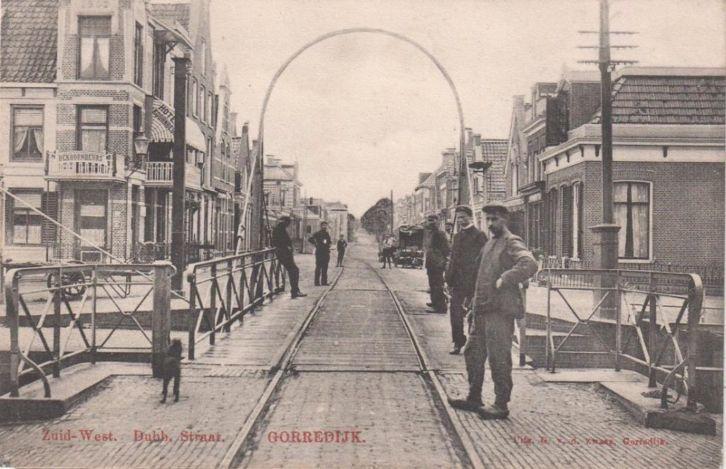 Gorredijk - poststempel 1909