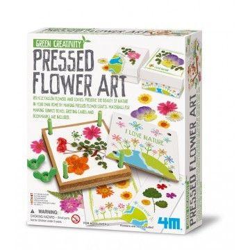 4M - Pressed flower art - bloemenpers voor gedroogde bloemen