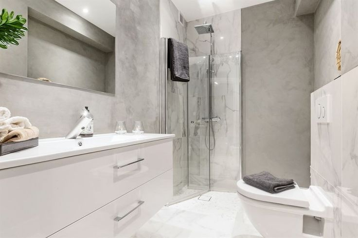 Geitmyrsveien Oslo. Bathroom. Marble.