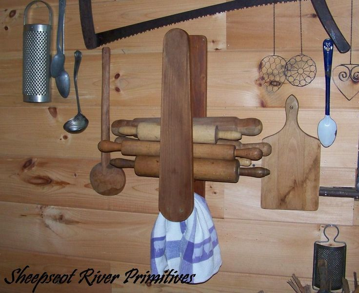 repurposed wood ironing boards | repurposed this vintage sleeve ironing board to use as a kitchen ...