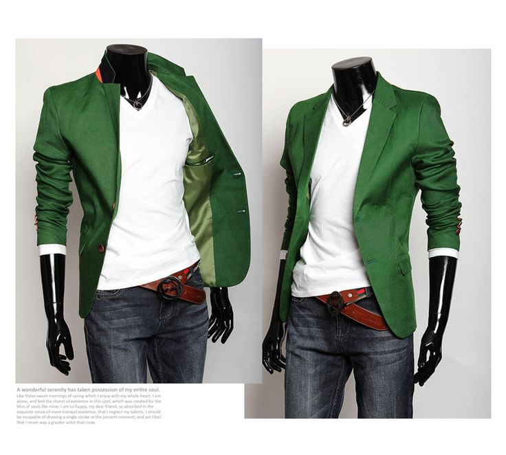 17 Best ideas about Green Blazer Mens on Pinterest | Man style ...