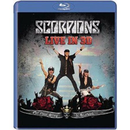 Get Your Sting and Blackout Live 2011 In 3D (Blu-ray)