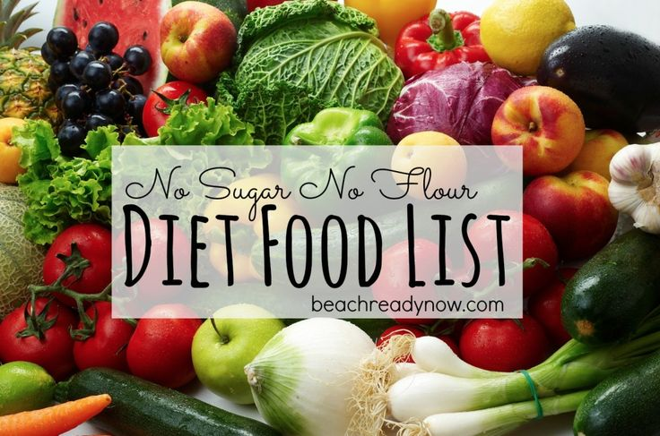 No Sugar No Flour Diet Food List = Follow this to lose cravings and lose weight