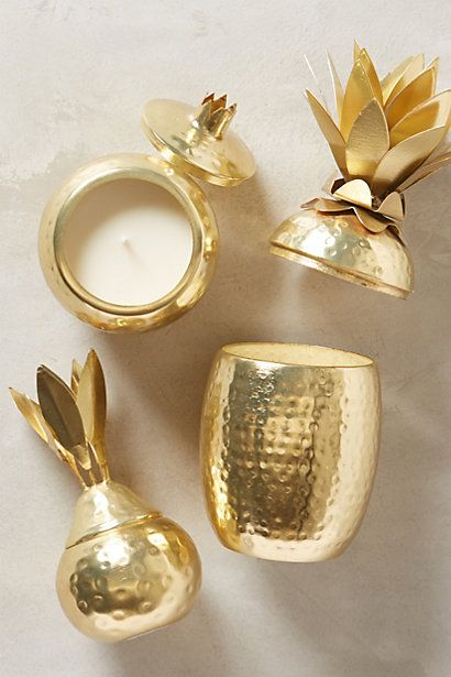 Gleaming Isla Candle #anthropologie