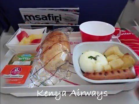 Uçaklarda İkram Edilen Yiyecekler