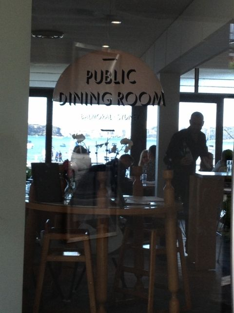 I highly recommend you visit the Public Dining Room at Balmoral. Fantastic and you wont be disappointed.