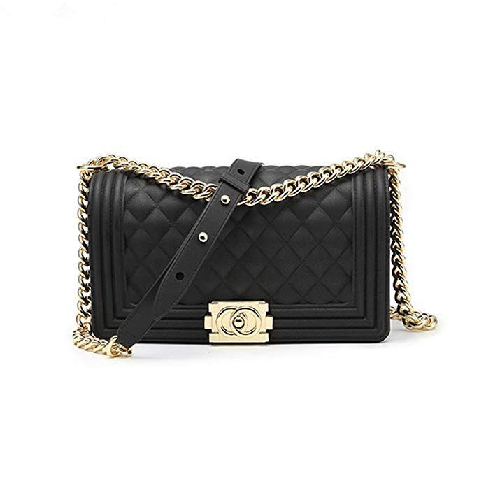 e9e7d84eaec7 Classic Silicon Quilted Crossbody Bag Luxury Shoulder Handbags ...