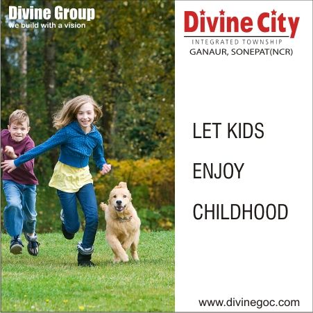 Kids must find enough open space to enjoy childhood in a secure way while remaining in front of parents' eyes.