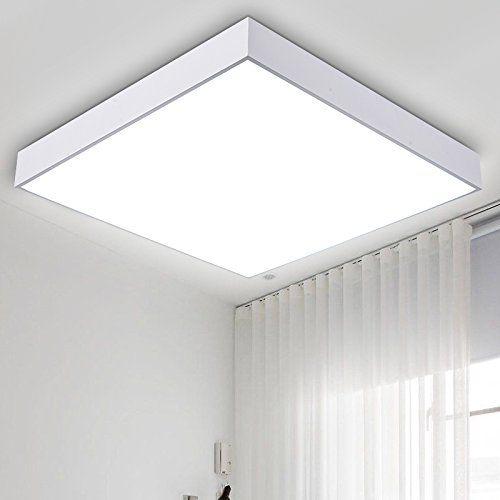 TYDXSD Quadratische LED Lampe Beleuchtung Wohnzimmer Modern Minimalistisches Schlafzimmer Warme Decke Wenig Raum Eine Studie