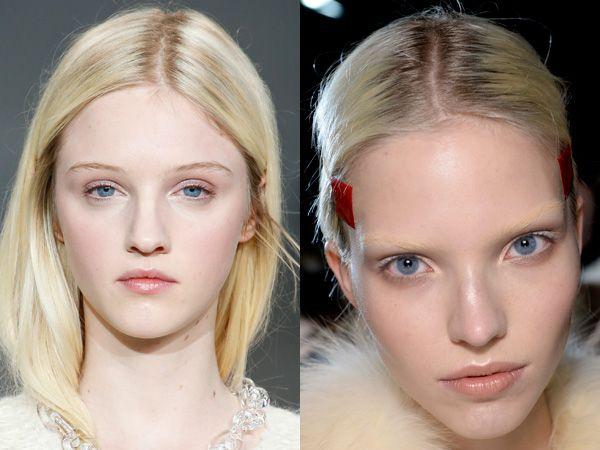 Make-up herfst winter 2014 2015: make-up looks vers van de catwalks - Trendystyle, de trendy vrouwensite