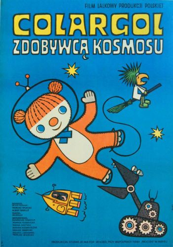 Coralgol Winner of the Cosmos - ORIGINAL POLISH POSTER