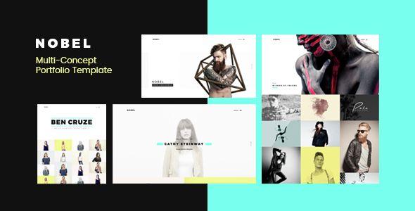 NOBEL - Minimal & Versatile Multi-Concept Portfolio / Agency Template