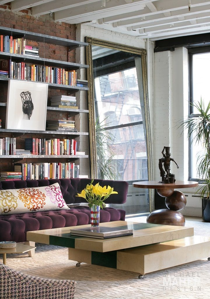 Cool And Inviting New York City Loft Designs Loft) Part 58