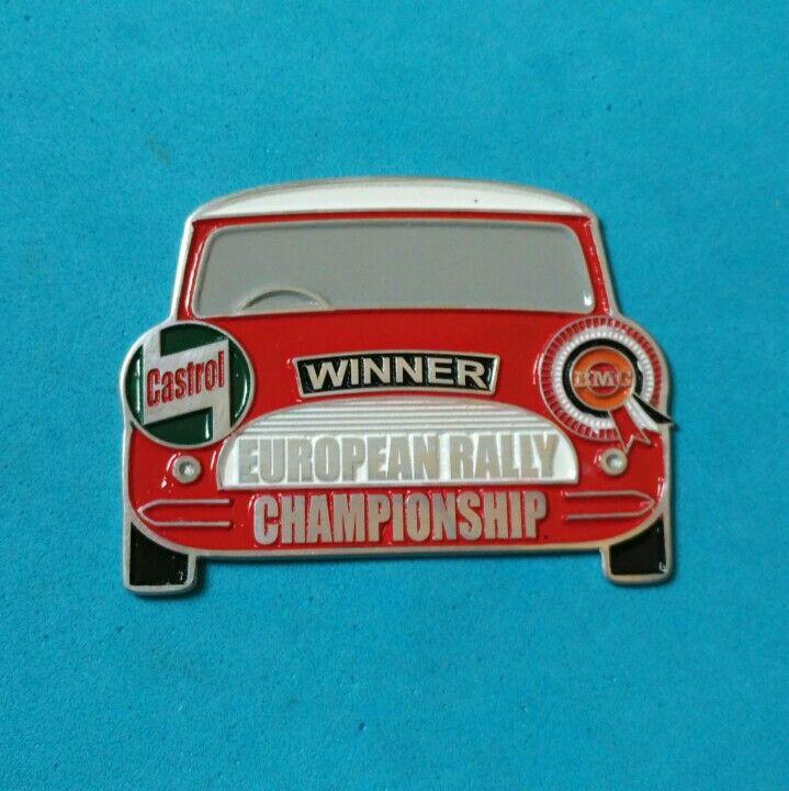Badge Castrol European Rally Championship