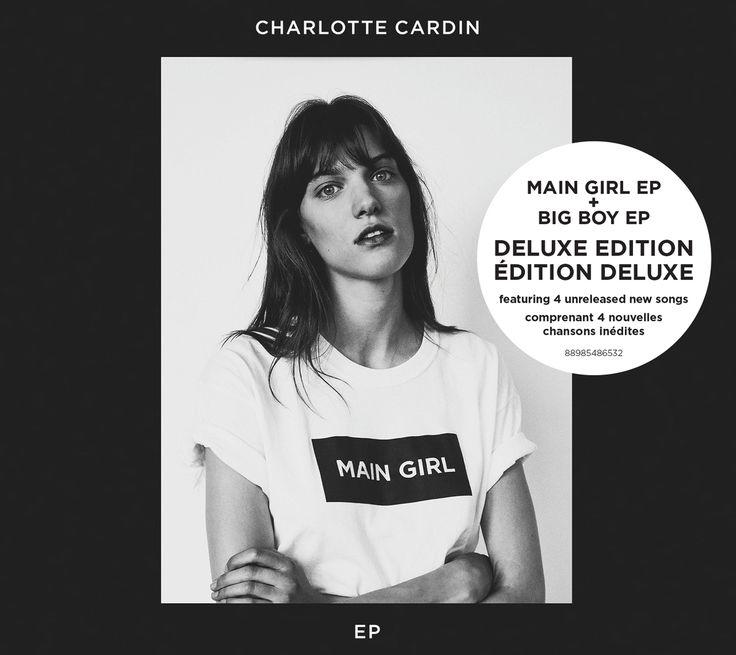 Main Girl / Big Boy - Charlotte Cardin - Nombre de titres : 10 titres -   Référence : 00059818  #CD #Musique #Cadeau #Vacance #Chalet