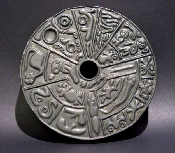 The Genetic Disc ~ artifact that could re-write ancient history and our origins. It contains carved depictions of human biology that can only be seen with help of a microscope! It is more than 6,000 YEARS OLD and was created by an unknown ancient civilization using ALIEN TECHNOLOGY. One side shows biological details like male sperms, female egg cell and the genitals, the fertilized egg, fetus and the growing embryo. The other shows several fetus in different stages of development until…