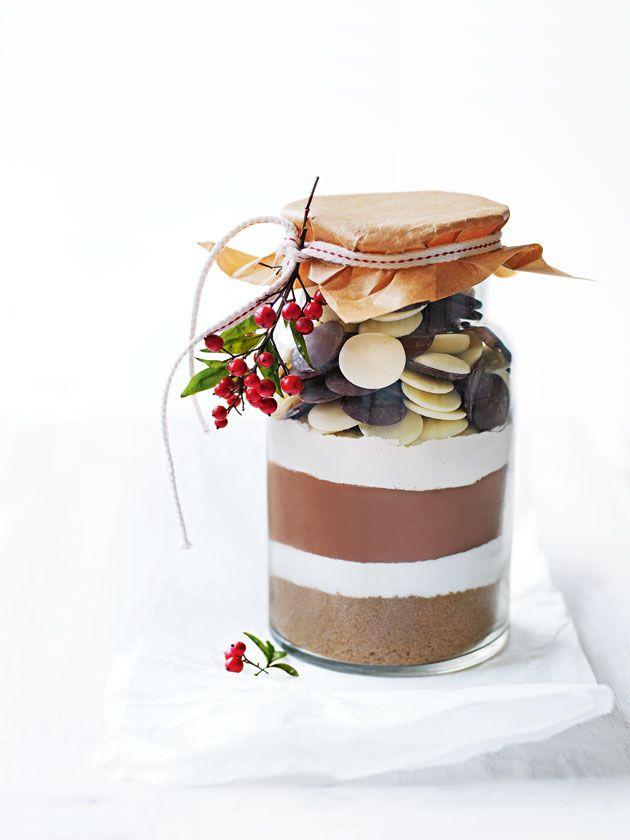 triple chocolate brownie mix