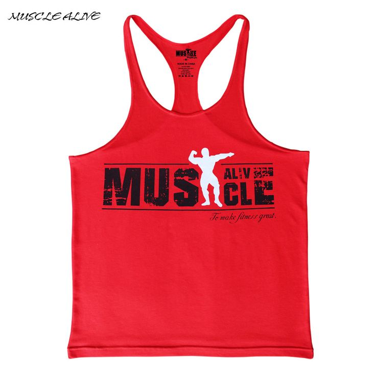 2016 Workout Men Bodybuilding Muscle Shirts Gyms Tank Top  Cotton Fitness Stringer Sleeveless Undershirt Print shirts O-neck