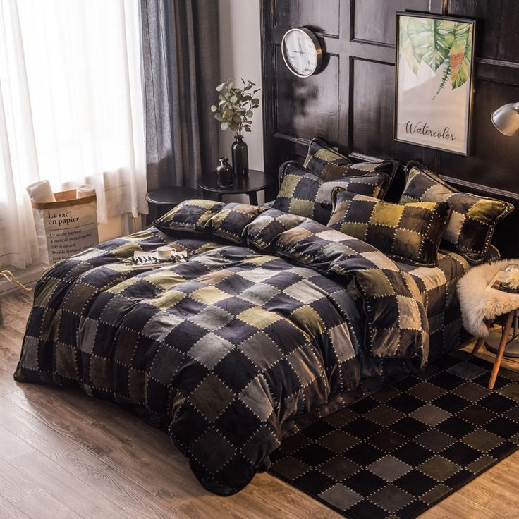 Find More Bedding Sets Information about Gray Color 4 Pcs Queen Size Comforter Set Bedding Set High Quality cartoon Duvet Cove bed set for boys,High Quality bed sets for boys,China bed set Suppliers, Cheap bedding set from Iva show Store on Aliexpress.com