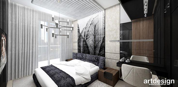 CASTLES IN THE AIR   Nowoczesna, luksusowa aranżacja sypialni