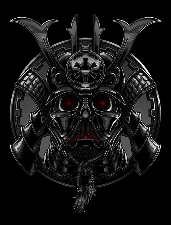 Samurai Vader on Character Design Served