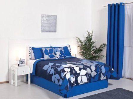 Elegant Blue Bedding Blue And White Bedding Comforter