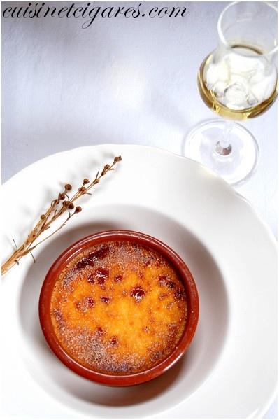 Crème Brûlée au Génépi