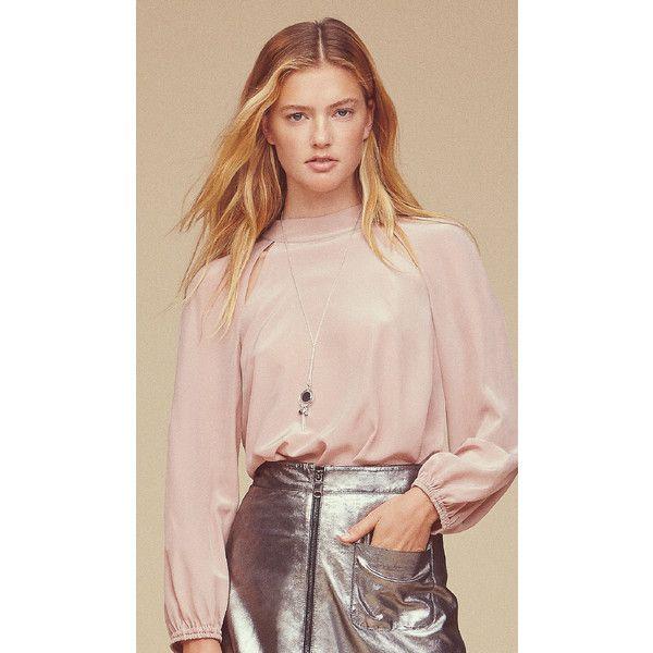 MAX&Co. Italia - Online Store - Abbigliamento per Donne alla Moda ❤ liked on Polyvore featuring tops and pink top