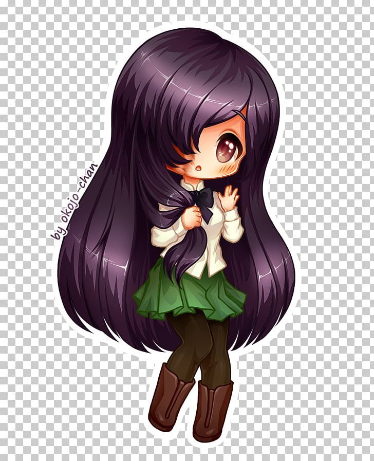 Katawa Shoujo Chibi Mio Akiyama Anime Shōjo Manga Png Clipart Anime Art Black Hair Brown Hair Cartoon Free Png Download Manga Png Mio Akiyama Chibi