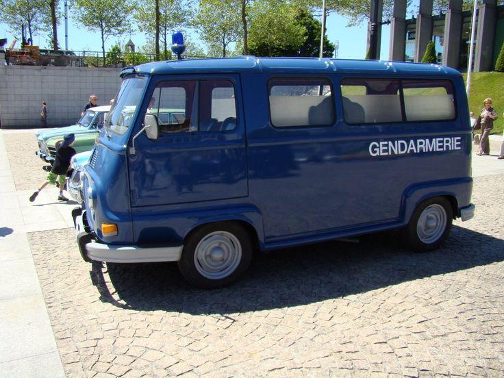 bleue g Renault Estafette 1970