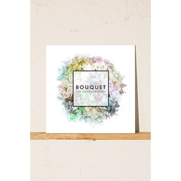 The Chainsmokers - Bouquet EP (1715 ALL) ❤ liked on Polyvore featuring home, home decor, urban outfitters and black home decor