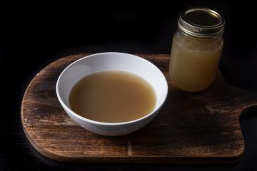 Pressure Cooker Turkey Stock Recipe: Save your turkey carcass after your holiday feasts and make your own rich Homemade Turkey Stock. Great as soup base, and adds depth of flavors to dishes.